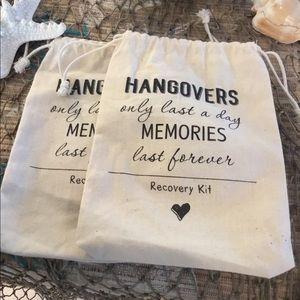 Handbags - 5x7 Hangover Recovery Bags (2) Bachelorette Party